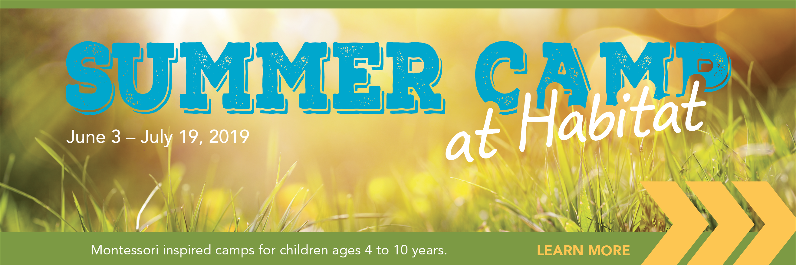Summer Camp at Habitat 2019